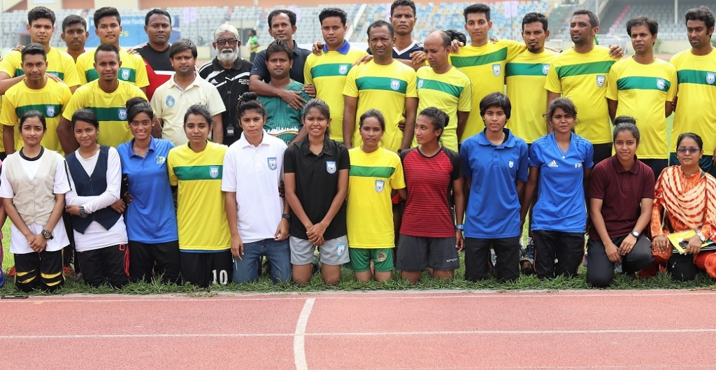 Referees' first Quarterly Fitness Test of 2019 held