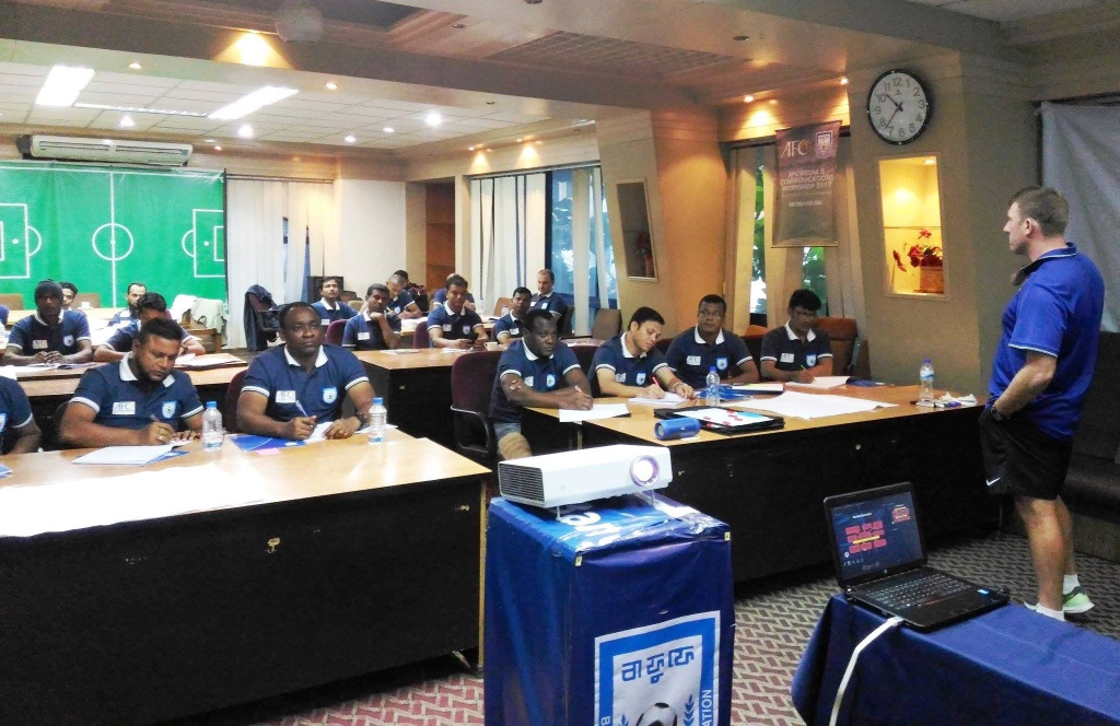 BFF AFC 'C' Certificate Coaching Course begins