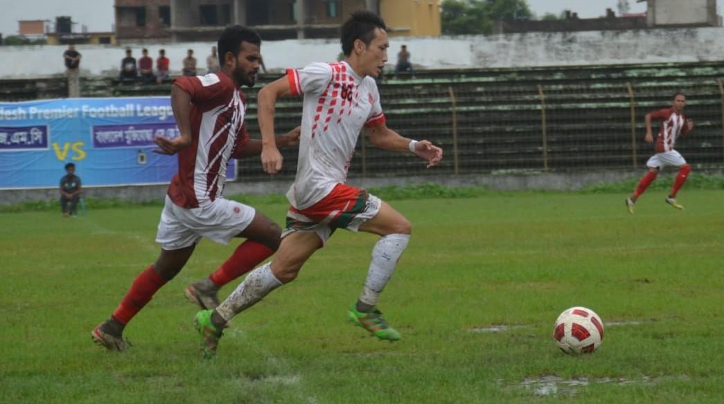 Muktijoddha break draw-lose circle defeating BJMC 1-0