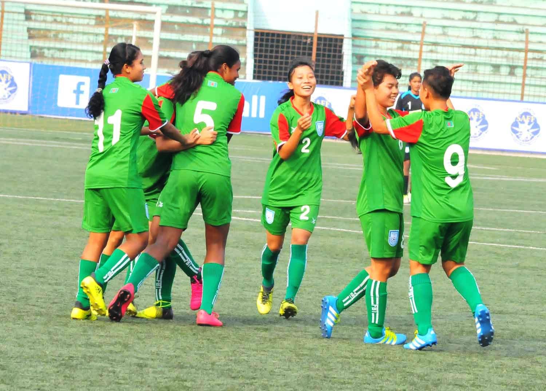 SAFF U-15 Championship: Bangladesh girls fired up for securing final
