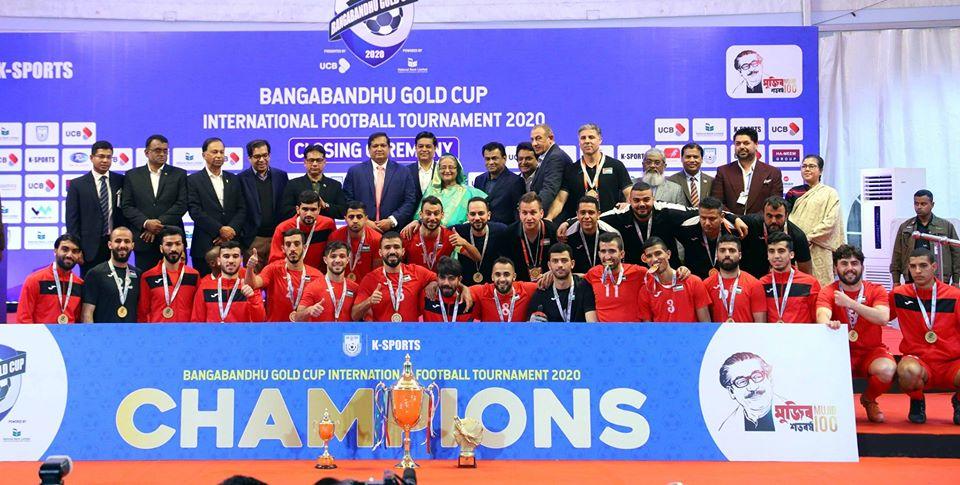 Palestine new Champions