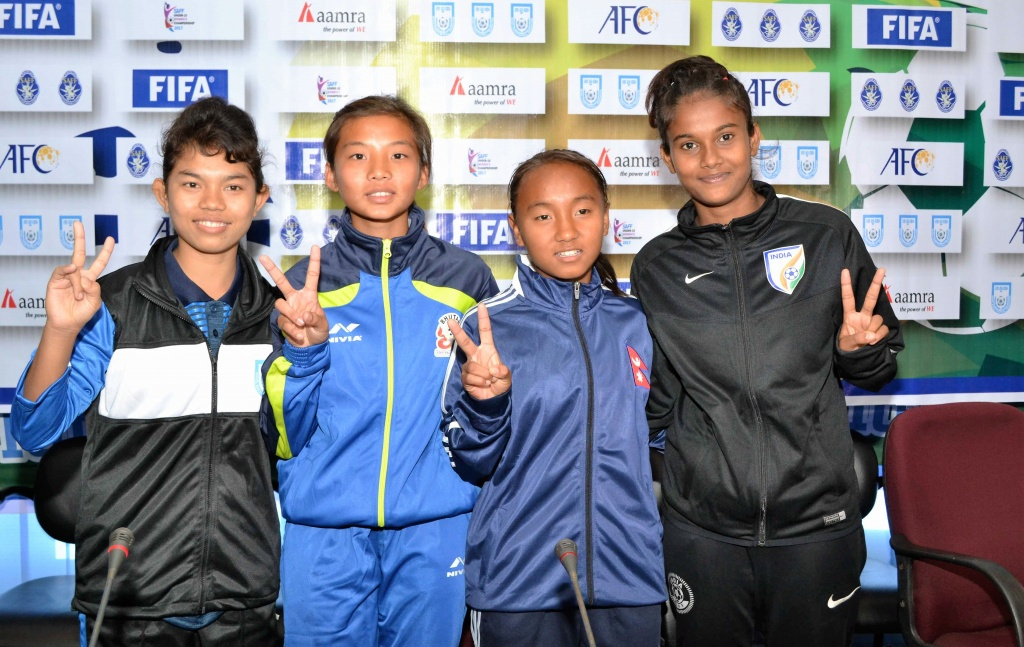 SAFF U15 Women's Championship: Teams ready to lock horns