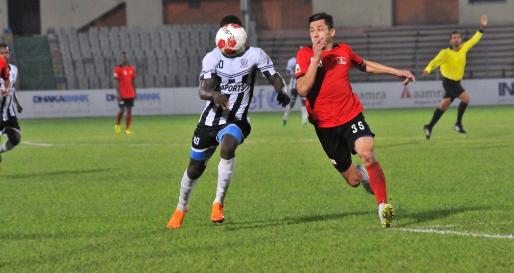 Mohammedan defeat Arambagh 1-0
