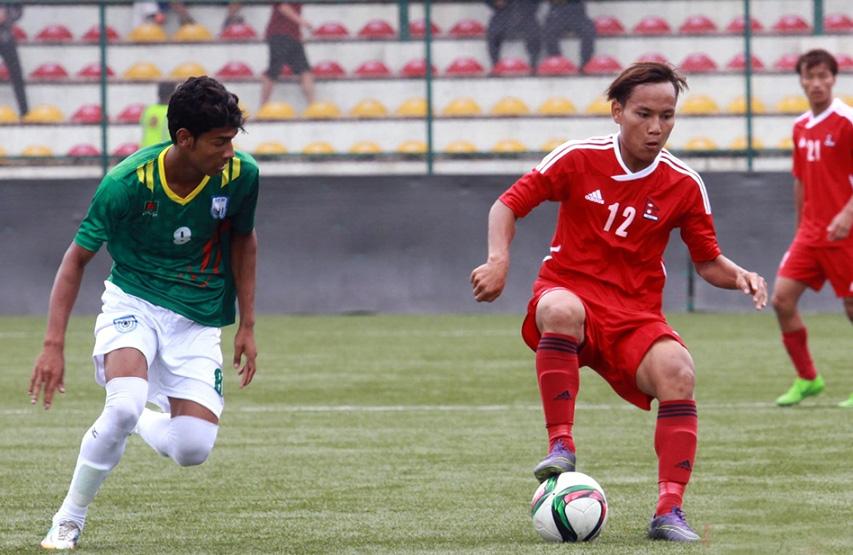 Bangladesh U23 lose 1-0 to Nepal and bad luck