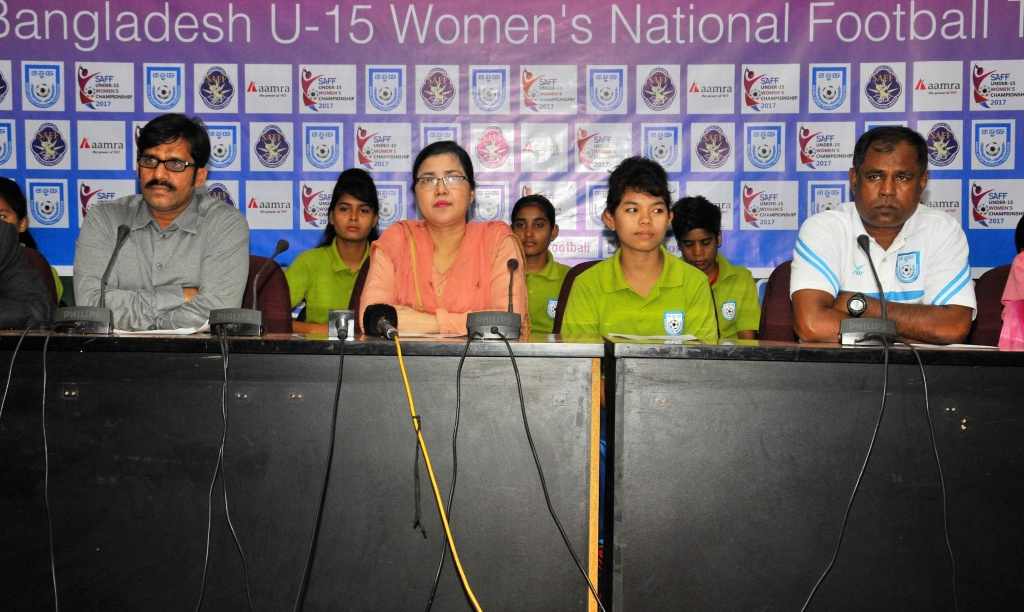 SAFF U15 Women's Championship: Choton targets SAFF crown