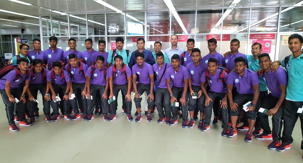 U-23 football team off to Nepal