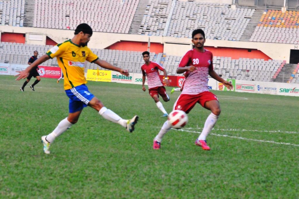 Jamal scores thrice to beat BJMC