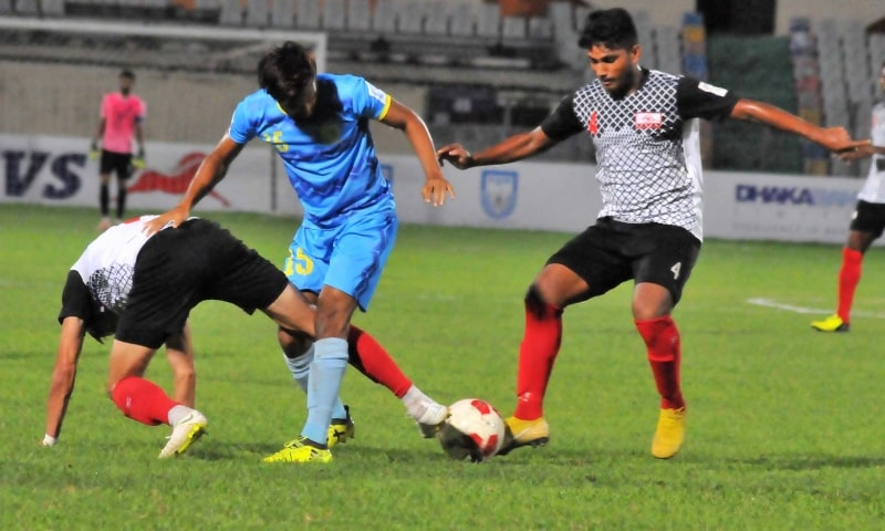 Abahani sweep away Arambagh