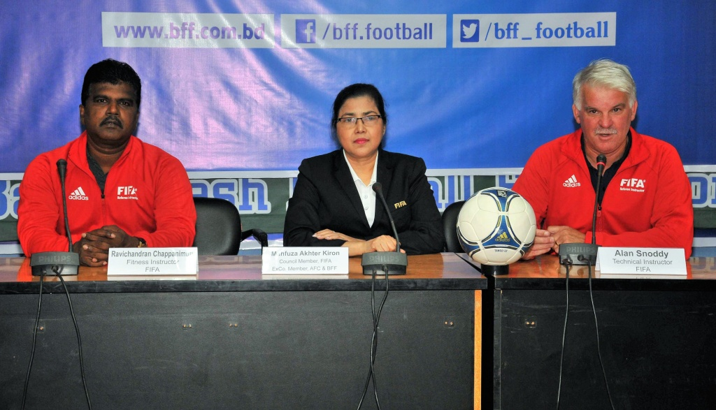 Closing ceremony of FIFA MA Referee Instructor Course held