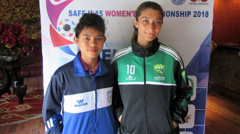 U15 girls ready and raring to face Pakistan