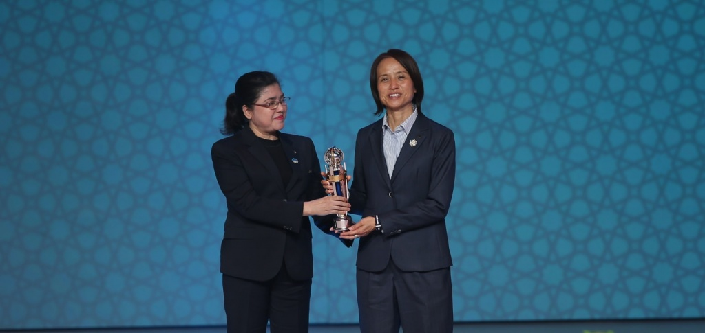 Kiron attends AFC Annual Awards in Oman