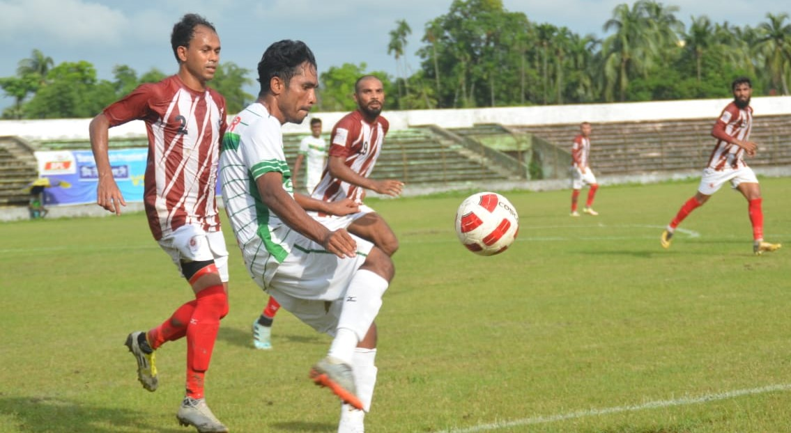Bangoura's hat trick brings NoFeL three points against BJMC