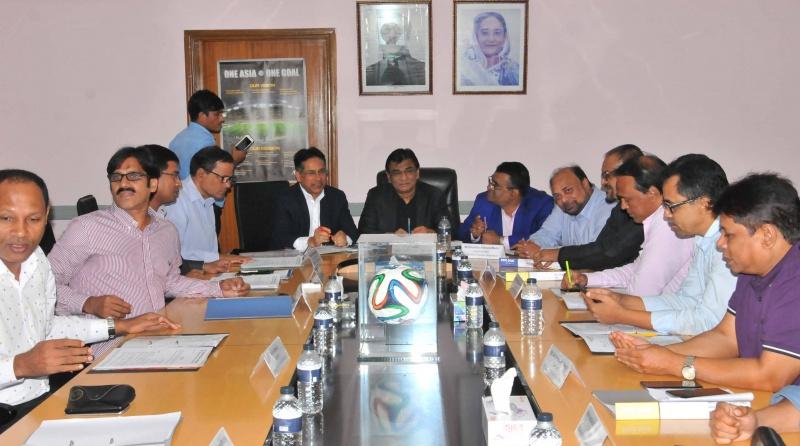 Bangabandhu Gold Cup from Oct 1