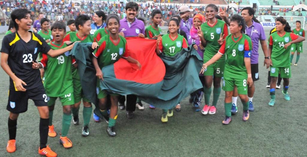 U16 girls beat Vietnam 2-0, confirm ticket to second round