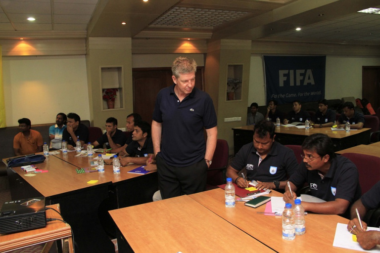 AFC coaches' goalkeeping course ends on a high note
