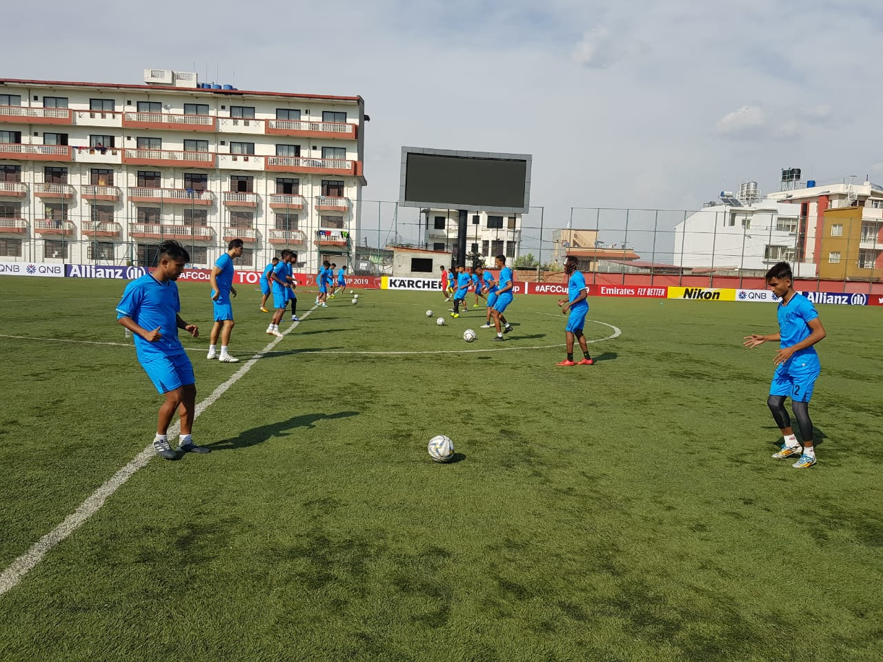 AFC Cup 2019: Abahani Ltd trains in Kathmandu