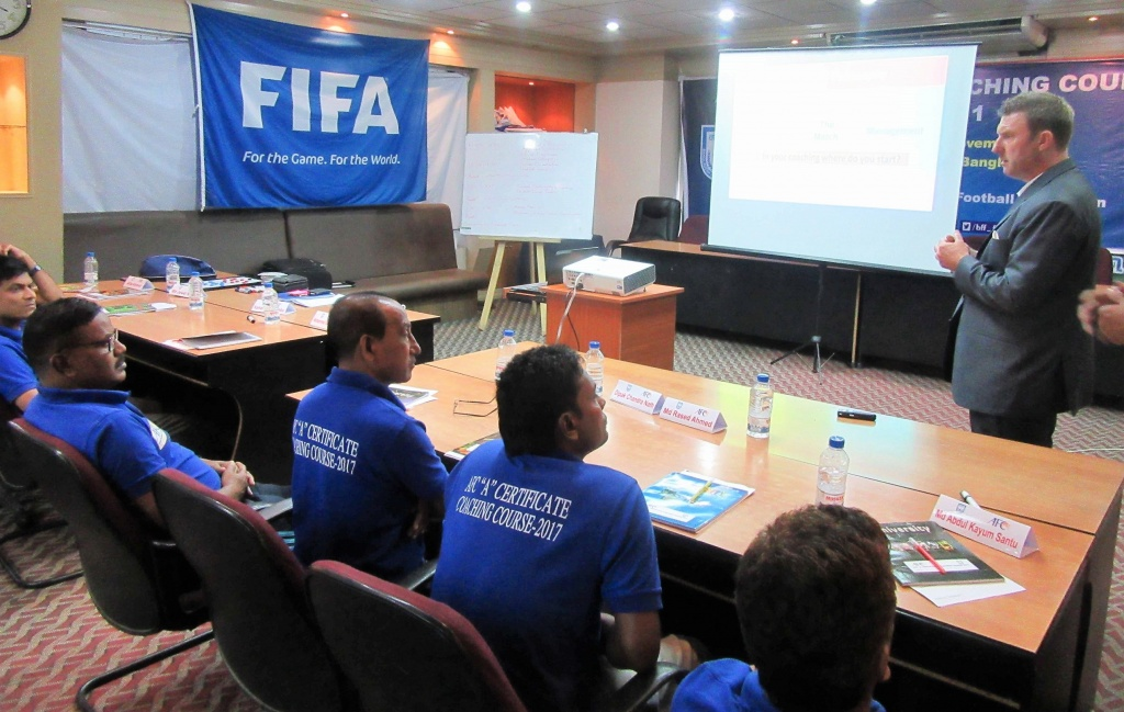 BFF AFC A coaching course going strong