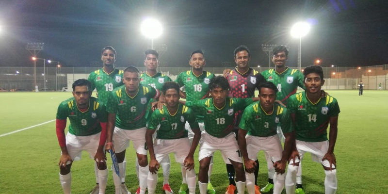 Bangladesh secure 1-1 draw in Qatar