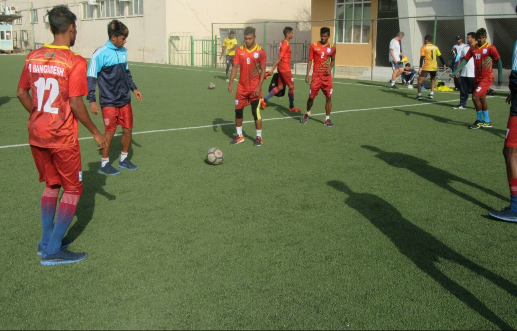 AFC U19 Qualifiers: Bangladesh raring for Sri Lanka clash