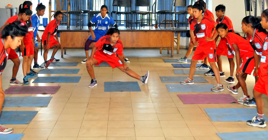 Bengal girls undergoing recovery sessions
