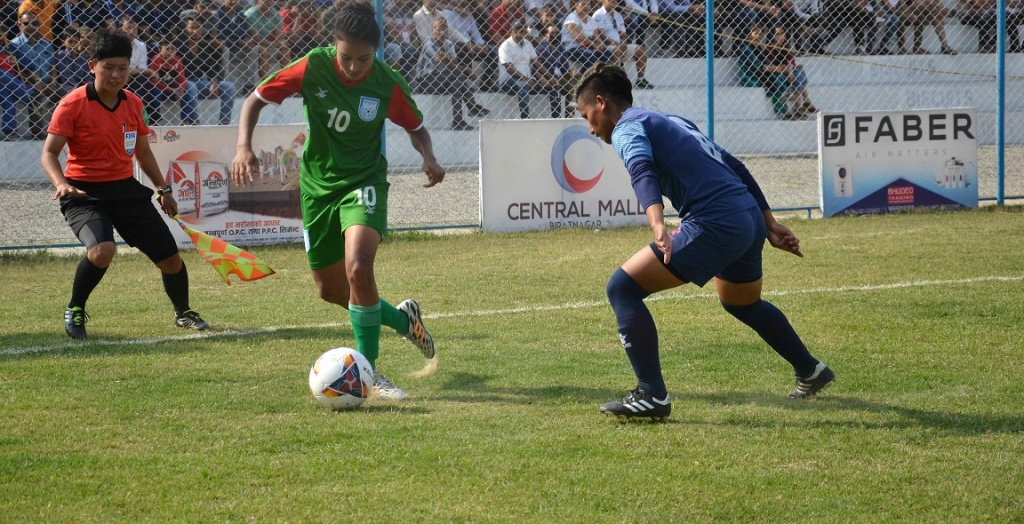 Bengal girls go down 3-0 to hosts Nepal