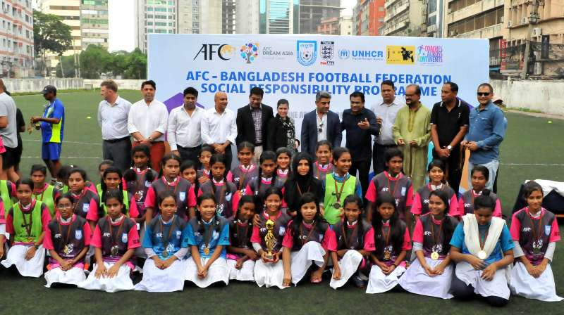 Training camp of street children held at BFF