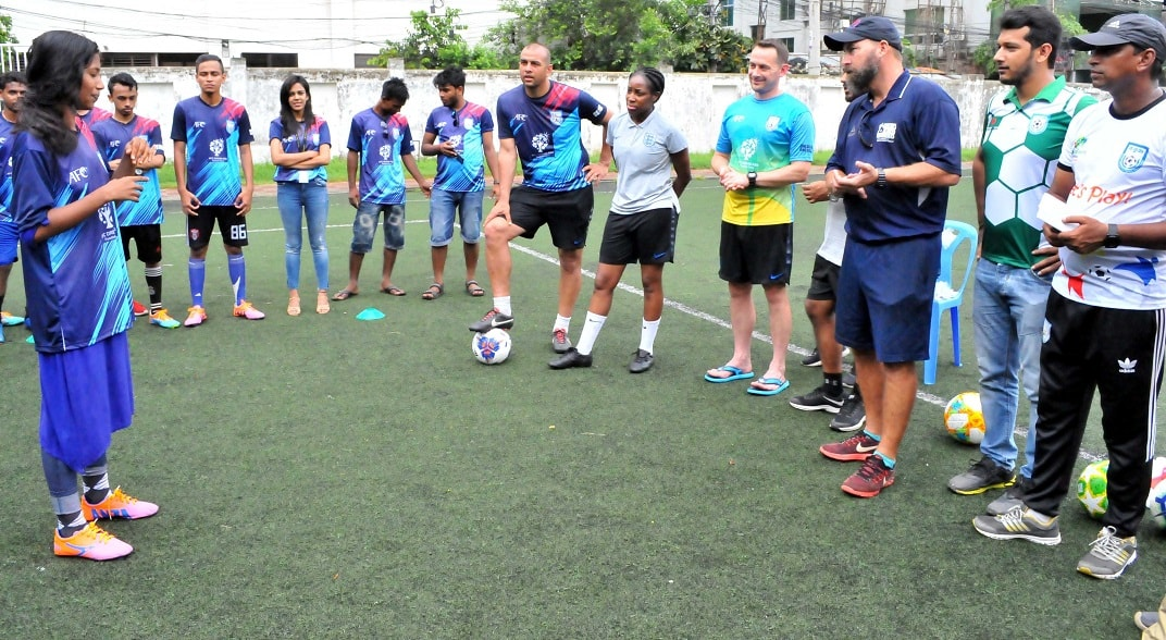 Street children to play football at BFF Saturday