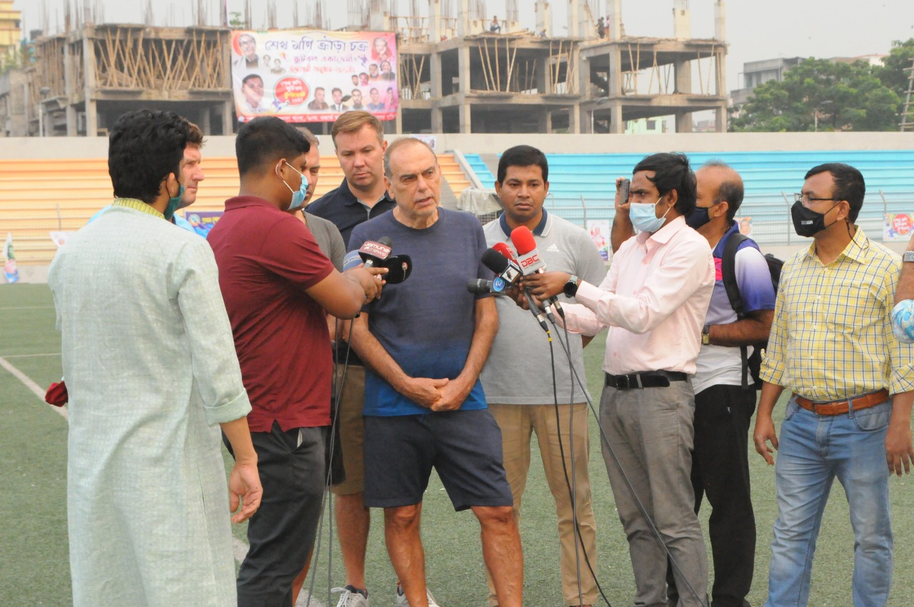 Third day's activities of Mr. Abraham Grant in Bangladesh