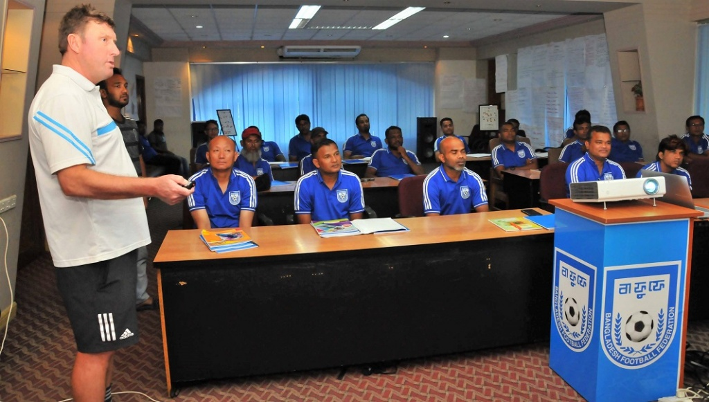 BFF emerging as a prominent training centre for Asian coaches