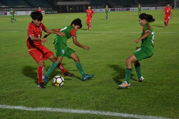 Olympic qualifiers: Bengal girls go down 5-0 to Myanmar